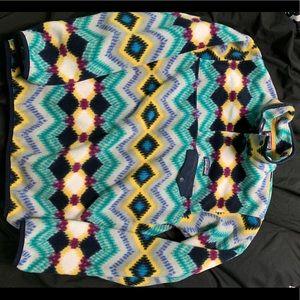 Multicolored Patagonia Snap Fleece